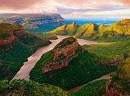 非洲大峡谷风景图片雄伟壮阔