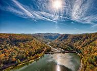 壮观的大水坝最美的风景图片