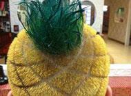 趣味恶搞图片之菠萝发型