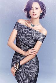 张歆艺靓丽短发时尚女神造型