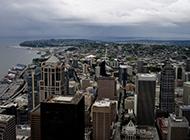 美国西雅图风景唯美摄影