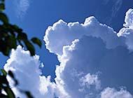 蓝天白云高清风光美景图片