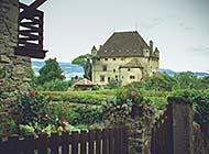 欧陆小镇莫奈花园浪漫风景高清壁纸