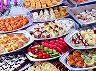 漂亮下午茶小甜点蛋糕图片