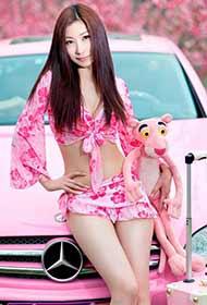 粉嫩系类:性感甜美模特写真