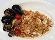 美味又营养的海鲜炒饭图片