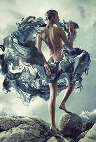 气质美女另类人体艺术彩绘图集欣赏