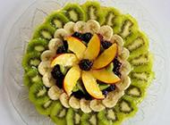 精致的创意水果拼盘图片