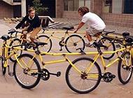 运动搞笑图之搞怪自行车