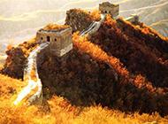 中国十大名胜古迹长城优美风景图片