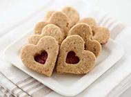 可口酥脆的烘焙饼干图片
