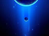 梦幻星空蓝色精美创意个性高清大图