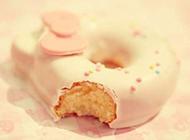 可爱甜甜圈图片可口美味