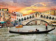 威尼斯水城特色古建筑图片集锦