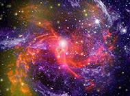 色彩绚丽的星空风景图片欣赏