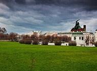 维也纳秋季迷人风景图片