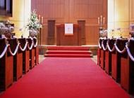 西式婚礼教堂高清图片