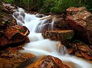 雄伟壮观的瀑布图片欣赏