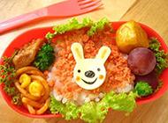 可爱的日式早餐创意便当图片