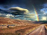 浪漫彩虹自然唯美意境美图精选壁纸