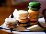马卡龙甜点图片色彩缤纷诱人