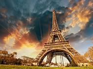 巴黎名胜古迹埃菲尔铁塔唯美图片选集