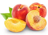 香甜可口的桃子水果图片
