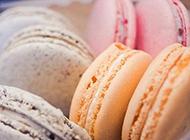 法国特色美食马卡龙糕点图片