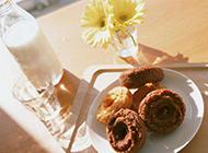 甜蜜英式下午茶饼干图片