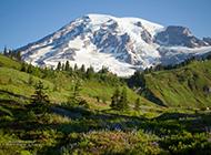 美国雷尼尔山国家公园高清风景图片