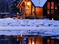 唯美冬天迷人雪景精美电脑壁纸