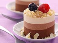 创意巧克力蛋糕图片造型诱人