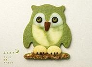 可爱的动物饼干图片