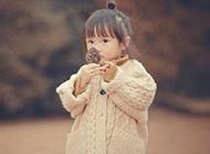 可爱萌娃初秋森林唯美写真