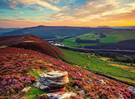 唯美秋天大自然山水风景图片壁纸
