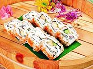 日本海鲜寿司图片鲜美可口