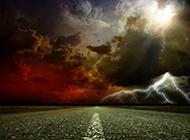 66号公路超梦幻闪电创意图片精选
