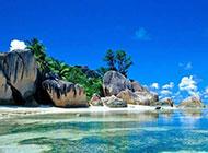 热带海岛唯美意境夏天风景图片