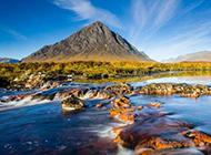 山川河流壮丽风景图片壁纸
