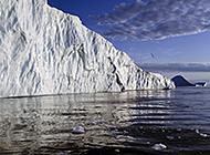 极地冰山雪山白色唯美图片