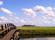 绿色草原风景图片壁纸推荐