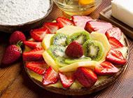 8寸水果蛋糕图片精致诱人