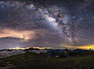 唯美星空自然风景图片高清壁纸推荐