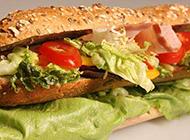 自制美味的中式汉堡包图片
