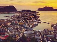挪威王国自然风光图片