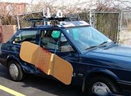 汽车搞笑图片之车门坏了这么办
