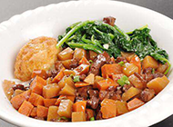 台湾特色美食小吃卤肉饭图片