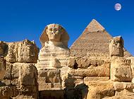 胡夫金字塔古埃及文明建筑图片欣赏