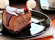美味巧克力蛋糕造型诱人