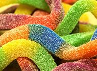 五彩斑斓的糖果甜品美食